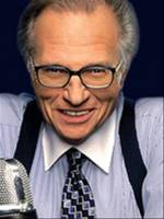 The photo image of Larry King. Down load movies of the actor Larry King. Enjoy the super quality of films where Larry King starred in.