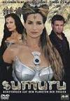 "The photo image of Linzi Swanepoel, starring in the movie ""Sumuru"""